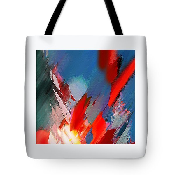 Abstract 11 Tote Bag by Anil Nene