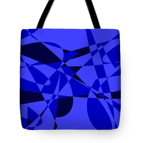 Abstract 153 Tote Bag by J D Owen