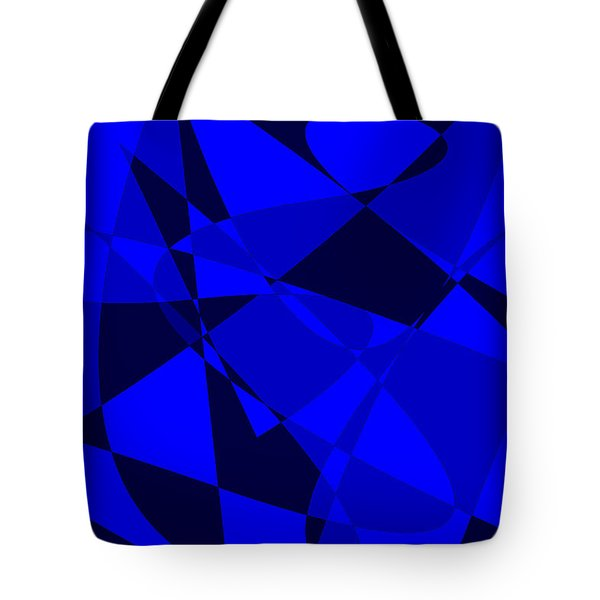 Abstract 154 Tote Bag by J D Owen