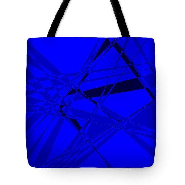 Abstract 156 Tote Bag by J D Owen