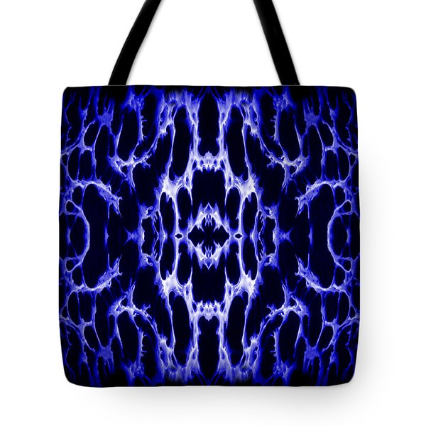 Abstract 158 Tote Bag by J D Owen