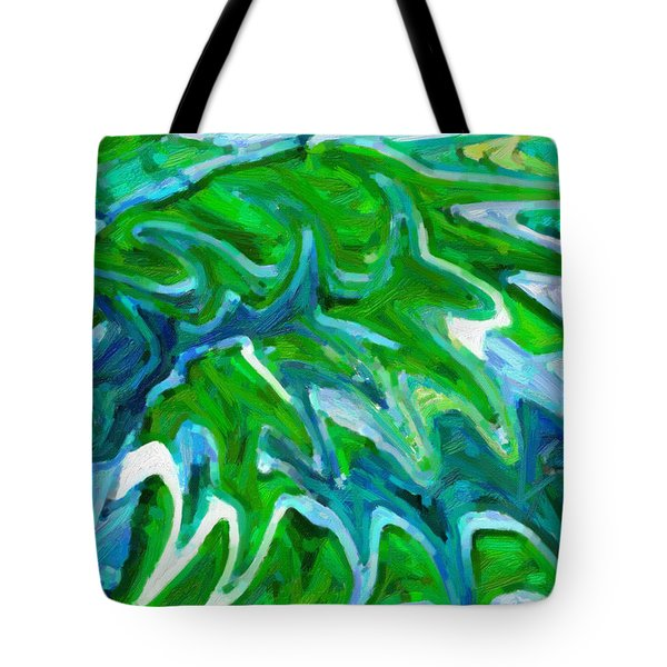 Abstract 16 Tote Bag by Kenny Francis
