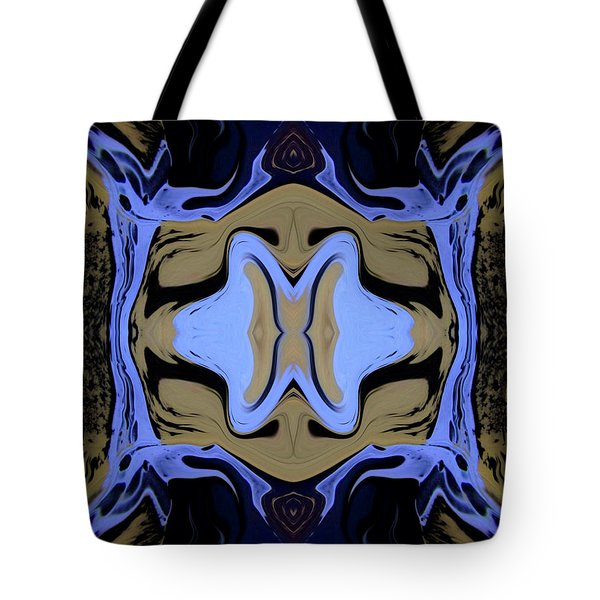 Abstract 161 Tote Bag by J D Owen