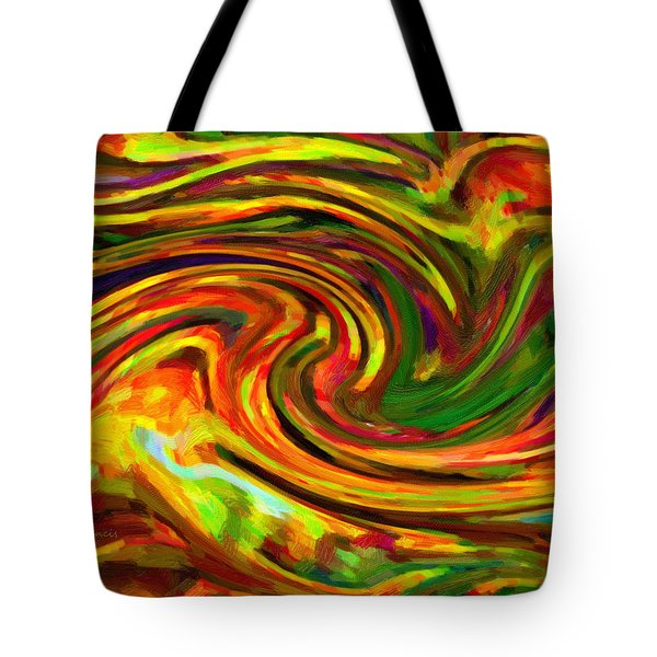 Abstract 17 Tote Bag by Kenny Francis