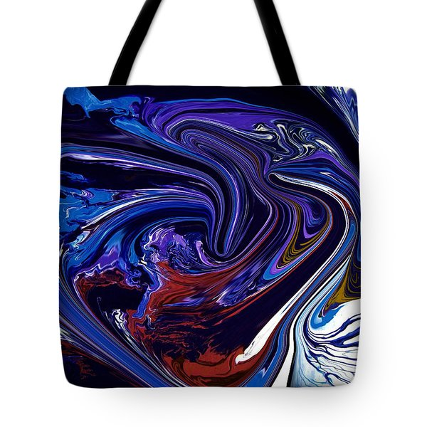 Abstract 170 Tote Bag by J D Owen