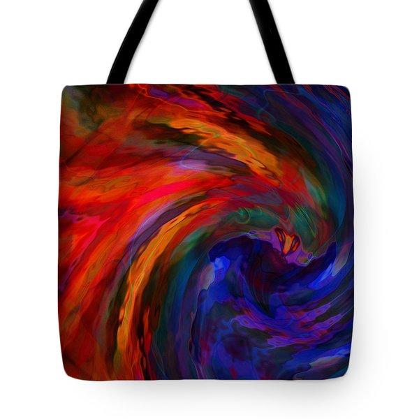 Abstract 29012013 - 042 Tote Bag by Stuart Turnbull