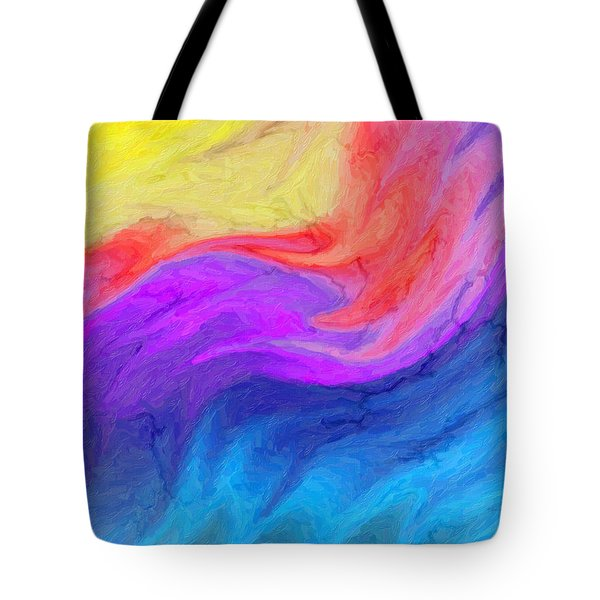 Abstract 37 Tote Bag by Kenny Francis