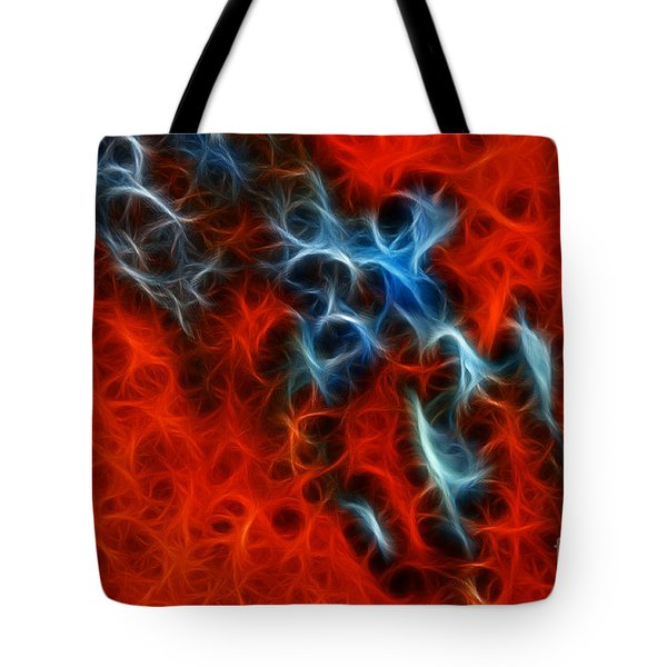 Abstract 4 Tote Bag by Vivian Christopher
