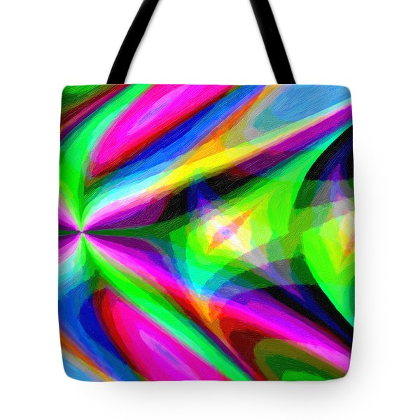 Abstract 45 Tote Bag by Kenny Francis
