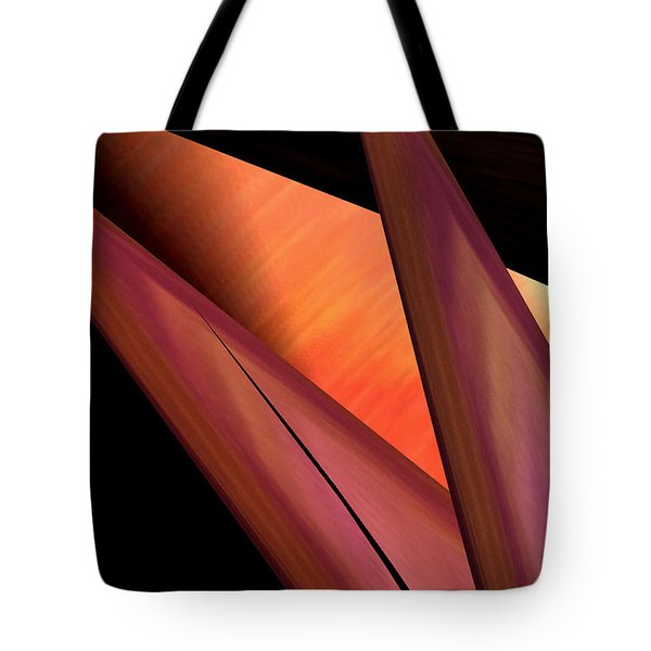Tote Bag featuring the painting Abstract 455 by Gerlinde Keating - Galleria GK Keating Associates Inc
