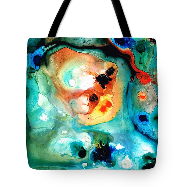 Abstract 5 - Abstract Art By Sharon Cummings Tote Bag by Sharon Cummings
