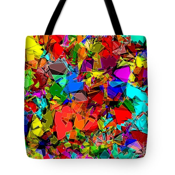 Astratto - Abstract 50 Tote Bag by ZeDi