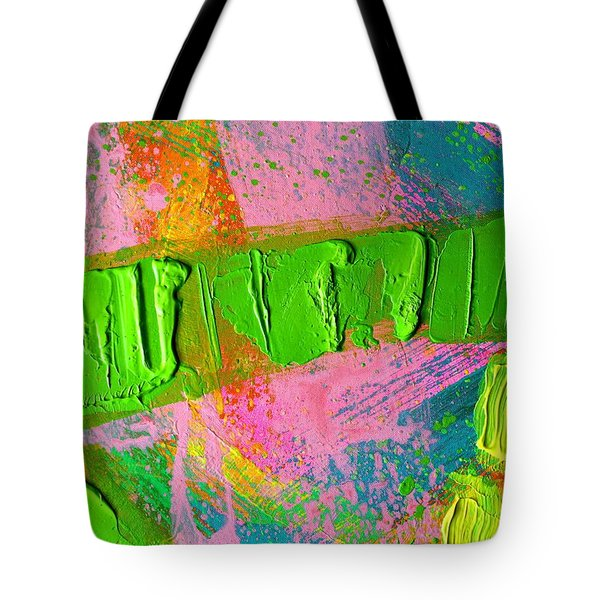 abstract 6814 Diptych Cropped XIV Tote Bag by John  Nolan