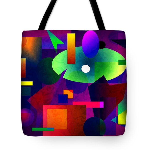 Abstract 74 Tote Bag by Timothy Bulone