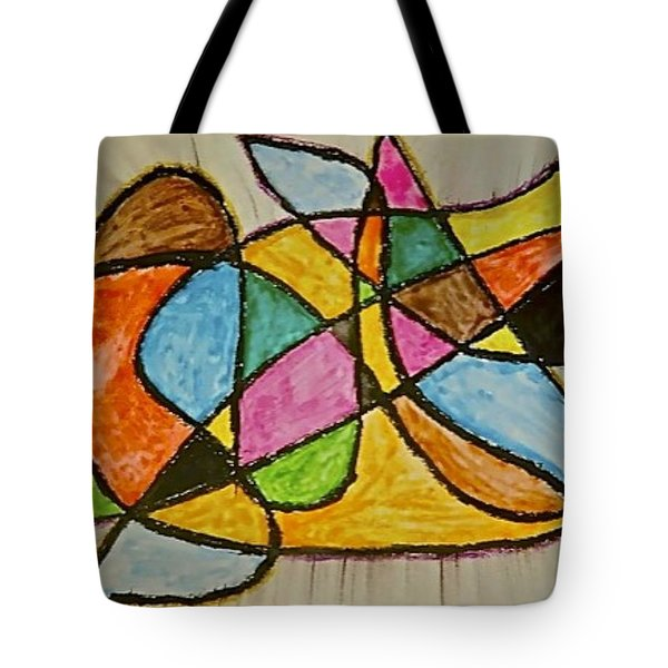 Abstract 89-002 Tote Bag