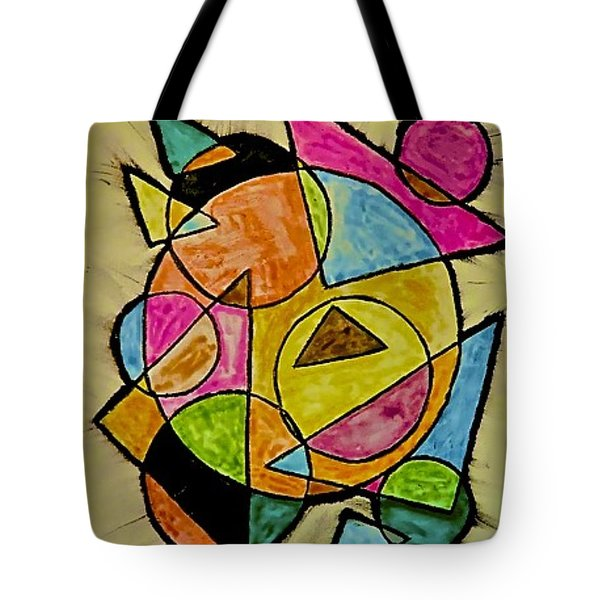 Abstract 89-004 Tote Bag