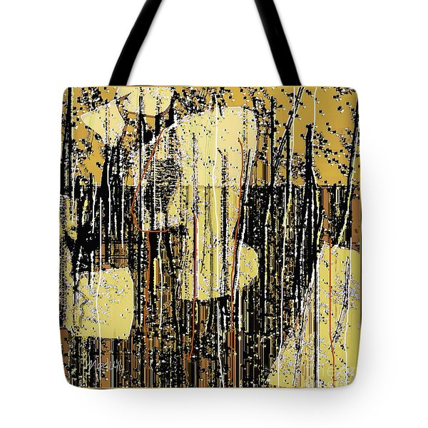 Abstract 971 Tote Bag by Nedunseralathan R