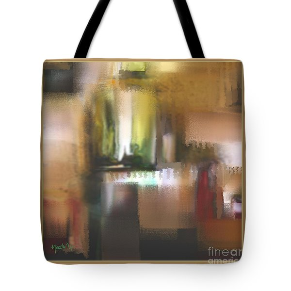 Abstract 972 Tote Bag by Nedunseralathan R