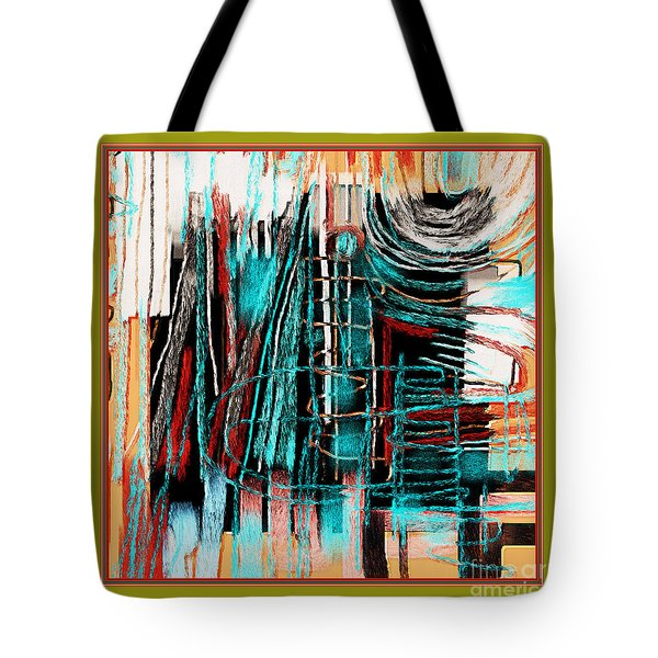 Abstract 974 Tote Bag by Nedunseralathan R