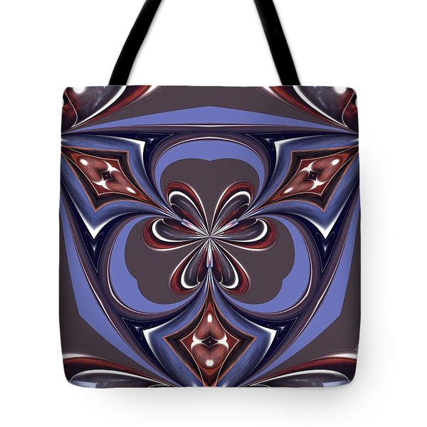 Abstract A027 Tote Bag by Maria Urso
