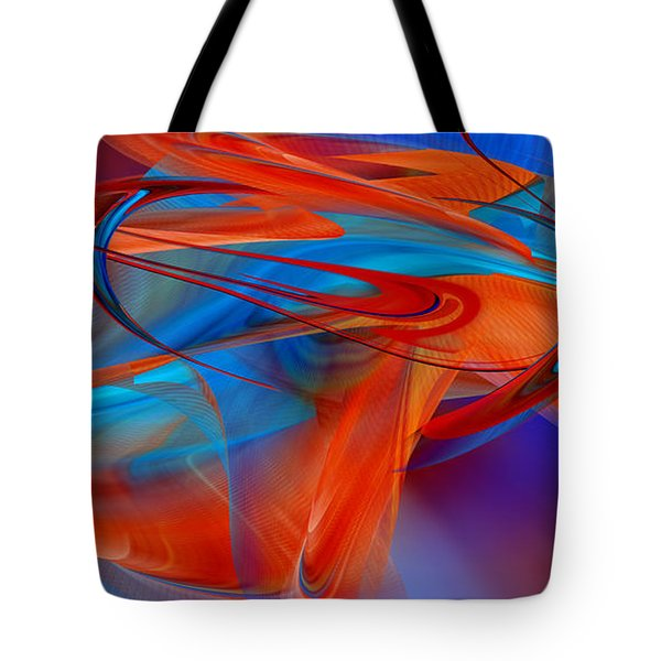 Abstract - Airey Tote Bag by rd Erickson