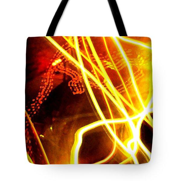 Abstract Tote Bag by Amanda Barcon