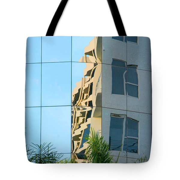 Abstract Architectural Shapes Tote Bag