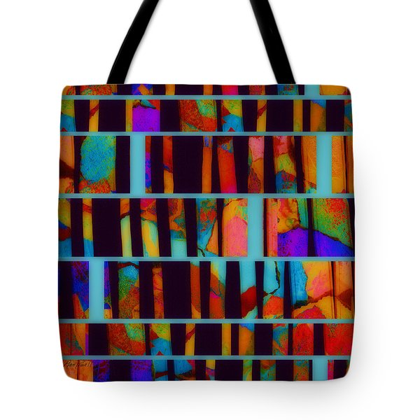 abstract - art- Color Pop  Tote Bag by Ann Powell