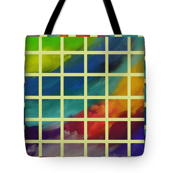 abstract - art- Color Study One Tote Bag