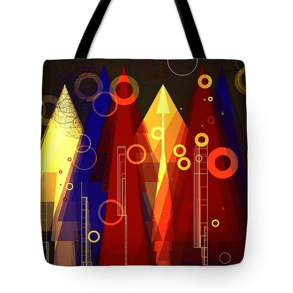 Abstract Art Deco Tote Bag