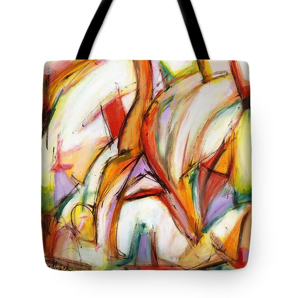 Abstract Art Forty-five Tote Bag