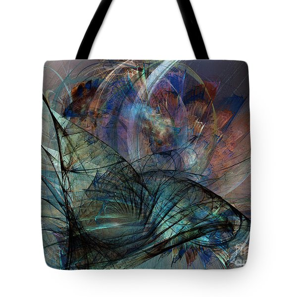 Abstract Art Print In The Mood Tote Bag
