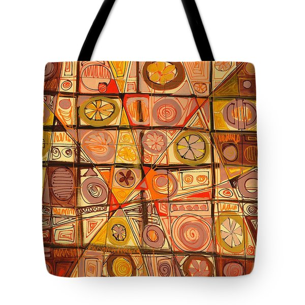 Abstract Art Sixty-five Tote Bag
