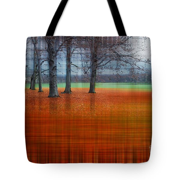 abstract atumn II Tote Bag