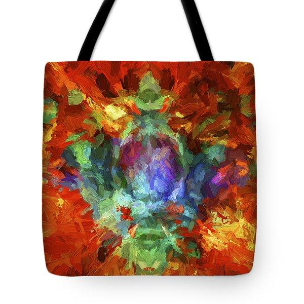 Abstract Series B5 Tote Bag