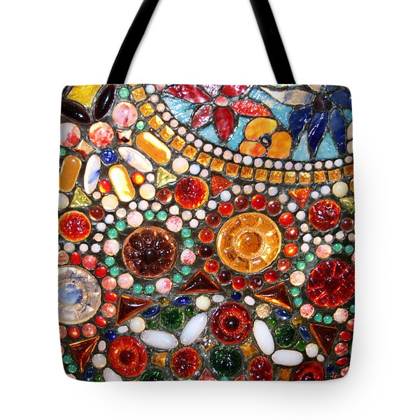 Abstract Beads Tote Bag