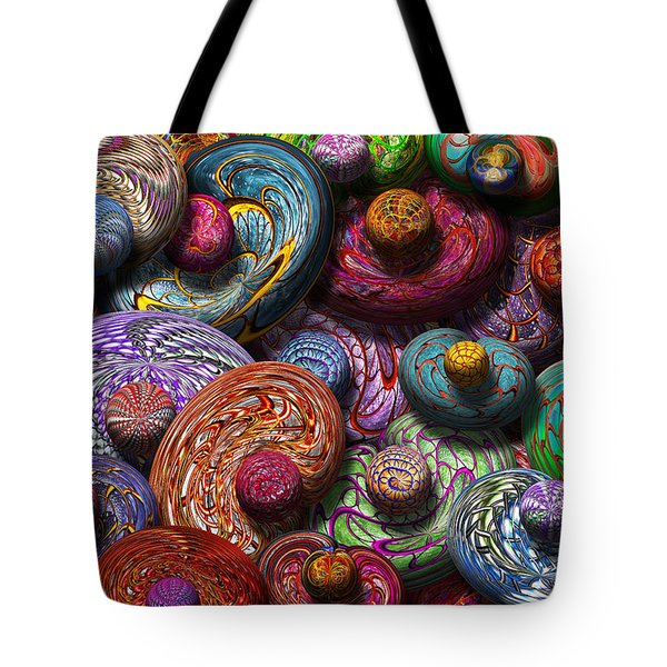 Abstract - Beans Tote Bag by Mike Savad