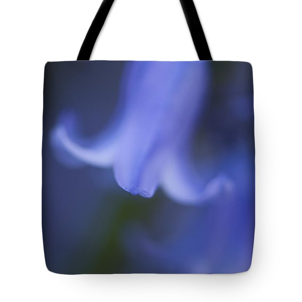 Abstract Bluebell Tote Bag by Anne Gilbert