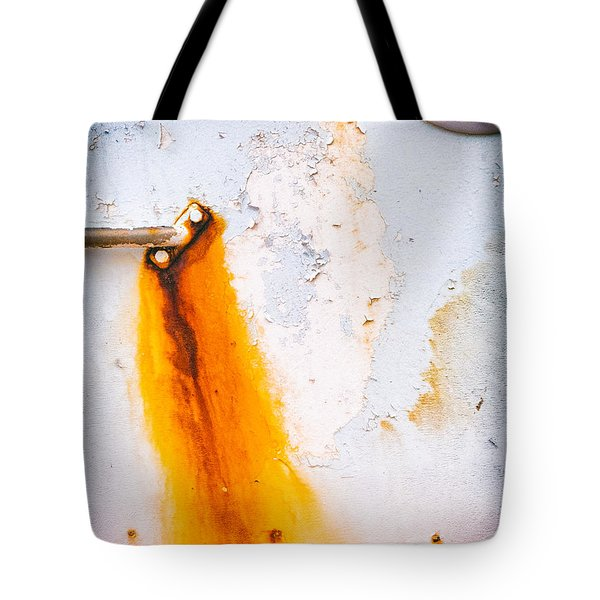 Tote Bag featuring the photograph Abstract Boat Detail by Silvia Ganora
