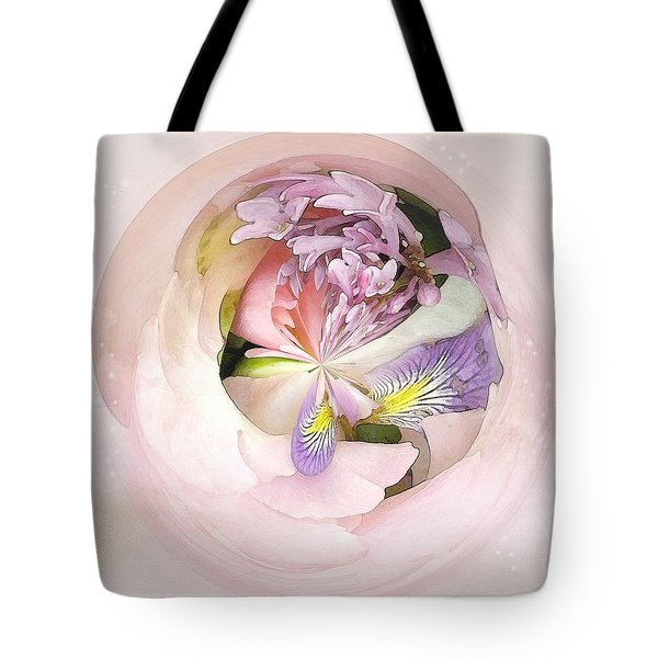 Abstract Bouquet Tote Bag