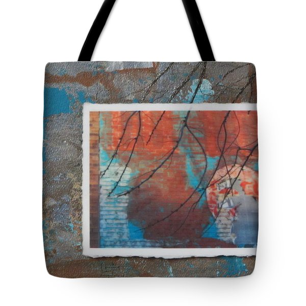 Abstract Branch Collage Tote Bag by Anita Burgermeister