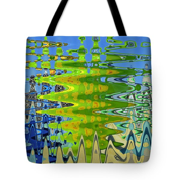 Abstract By Photoshop 1 Tote Bag