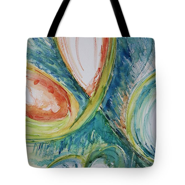 Abstract Chaos Tote Bag