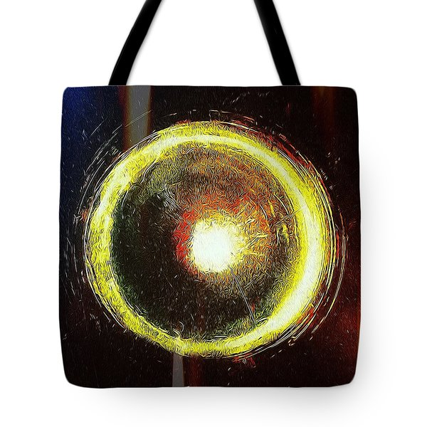 Abstract Circle Tote Bag