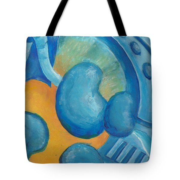 Abstract Color Study Tote Bag