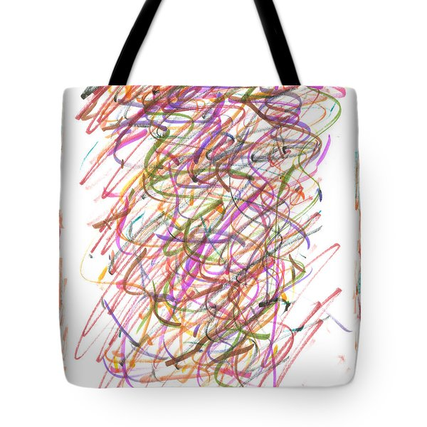 Abstract Confetti Celebration Tote Bag by Joseph Baril
