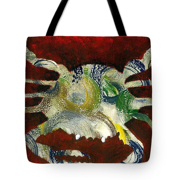 Abstract Crab Tote Bag