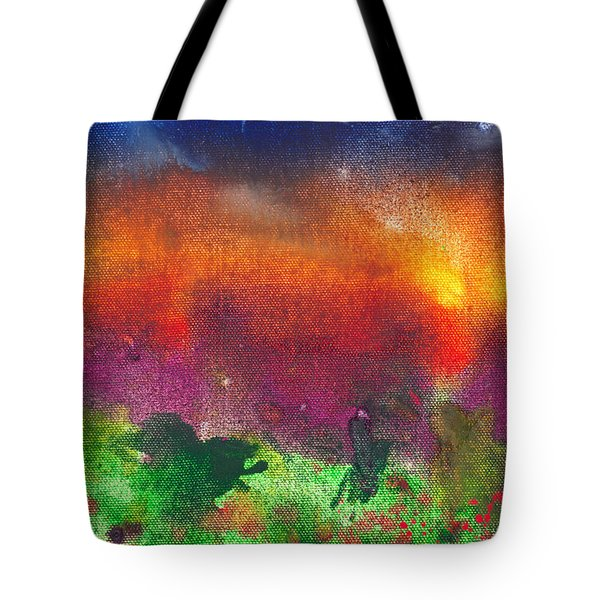 Abstract - Crayon - Utopia Tote Bag by Mike Savad