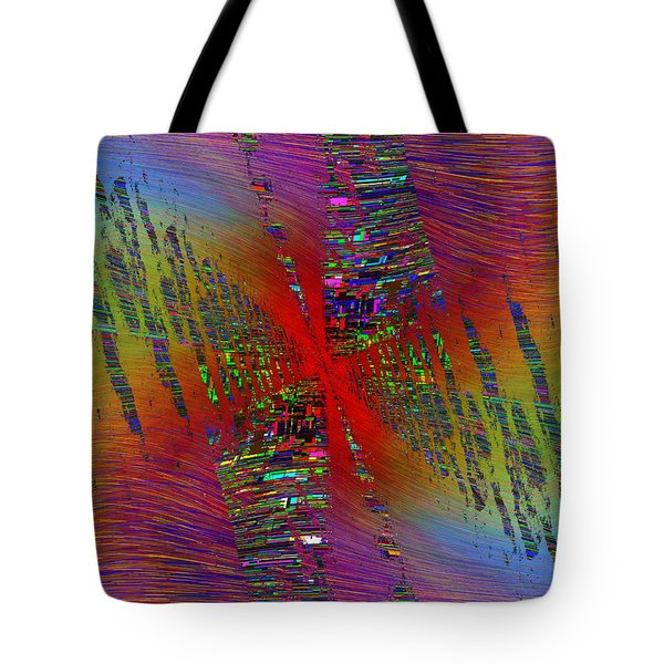 Abstract Cubed 170 Tote Bag