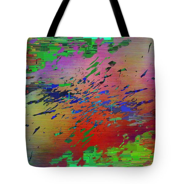 Abstract Cubed 69 Tote Bag